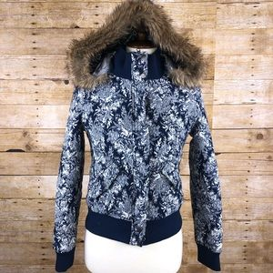 Bellfield Floral Embroidered Coat size XS.
